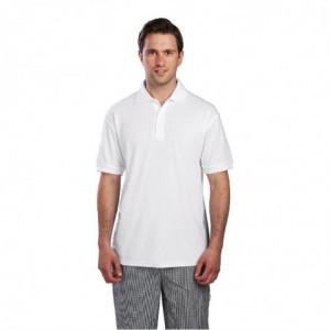 Polo Mixte Blanc - Taille Xl FourniResto - 1