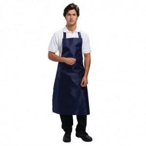 Tablier Bavette Déperlant Bleu - 1016 x 711 mm Whites Chefs Clothing - 1
