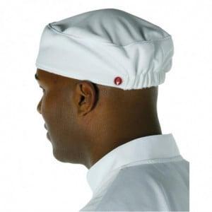Calot de Cuisine Blanc Chef Works - 1