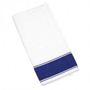 Serviettes Gastro Avec Bordure Bleue 500 X 350 Mm Olympia - 1