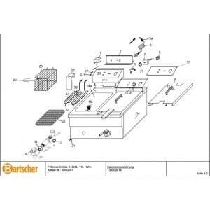 Joint de Robinet pour Imbiss II Bartscher - 1