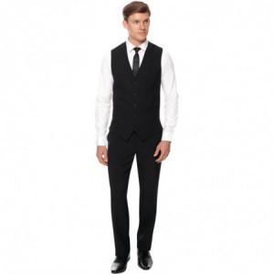 Pantalon de Service Noir Events pour Homme - Taille 48 FourniResto - 1