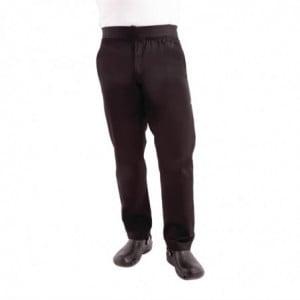 Pantalon Slim Noir Pour Homme - Taille M Chef Works - 1