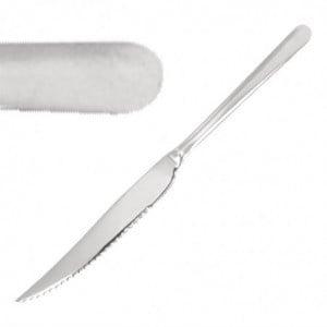 Couteau À Viande Ou À Pizza Miroir 235 Mm - Lot De 12 Olympia - 1