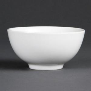 Bol à Riz Blanc - 130 mm de Diamètre - Lot de 12 Olympia - 1