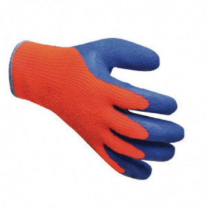 Gants Antifroid Orange Et Bleu Taille Unique FourniResto - 1