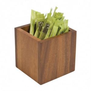 Boîte à Sachets - 100 x 100 Mm T&G Woodware - 3