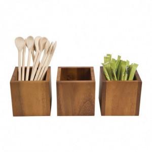 Boîte à Sachets - 100 x 100 Mm T&G Woodware - 4