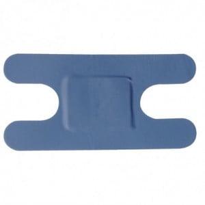 Pansements Bleus Assortis Formes Et Tailles Différentes - Lot De 100 FourniResto - 1