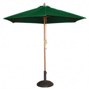 Parasol Vert Rond Ø 3 M Bolero - 1