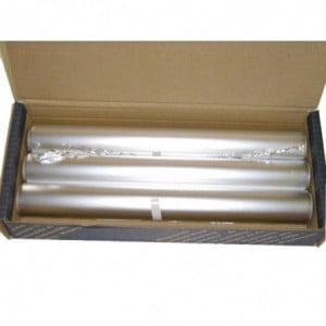 Rouleau De Papier Aluminium Pour Distributeur Compact 1000 30 M - Lot De 3 Wrapmaster - 1