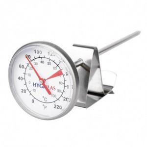 Thermomètre à Café et à Lait 125 mm FourniResto - 1