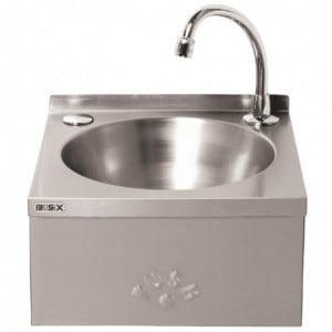 Lave-mains à Commande Genou en Inox FourniResto - 1