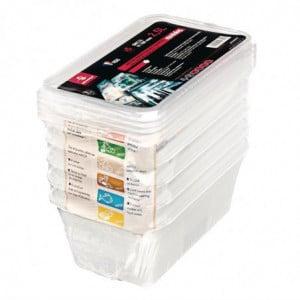 Boîte de Stockage GN 1/4 pour Utilisation Intensive - 3,5 L - Lot de 5 Bourgeat - 1