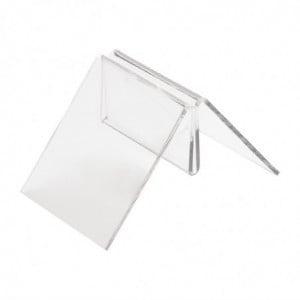 Porte-Cartes Acrylique en Forme de T Olympia - 1