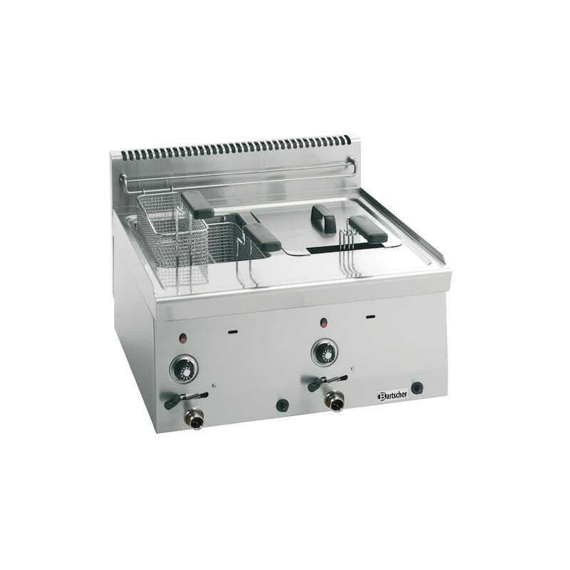 Friteuse à Gaz 600 - 2x8 L
