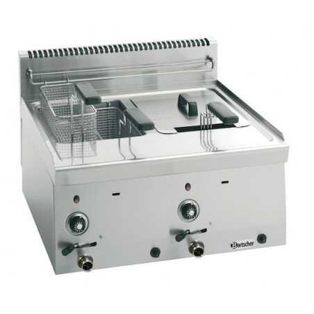 Friteuse à Gaz 600 - 2x8 L Bartscher - 1
