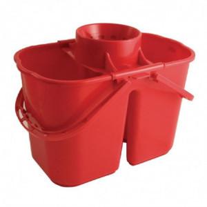 Seau Essoreur Rouge Double Jantex - 1