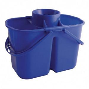 Seau Essoreur Bleu Double Jantex - 1