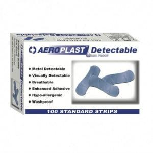 Pansements Bleus Détectables - Lot de 100 FourniResto - 1