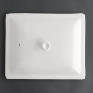 Couvercle Blanc Pour Bac Gn 1/2 Whiteware Olympia - 1