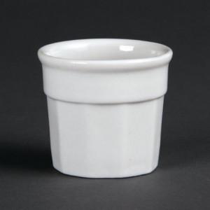 Pot À Sauce Whiteware 50 X 45 Mm - Lot De 12 Olympia - 1