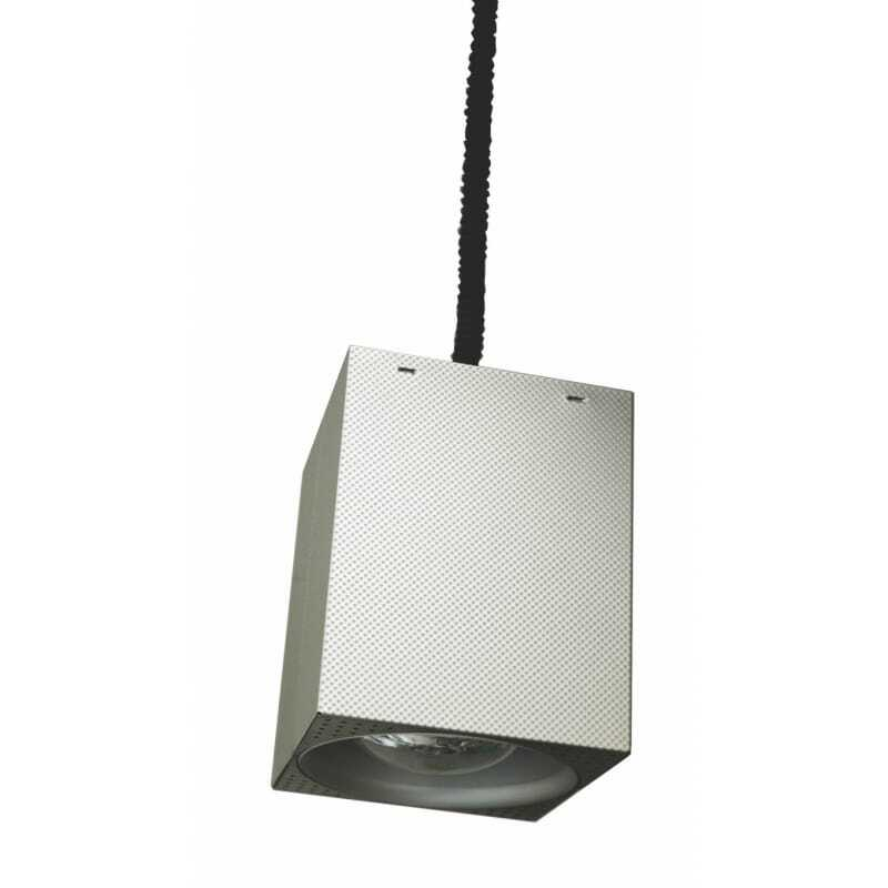 Lampe Chauffante Carrée Inox