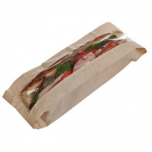 Sachet Sandwich Baguette en Papier Recyclable - Lot de 1000 FourniResto - 1