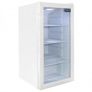 Vitrine Réfrigérée De Comptoir Blanche 1 Porte 88 L Polar - 1