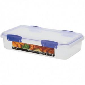Boîte de Conservation Pour La Viande Sistema En Polypropylène 1,7 L Sistema - 1