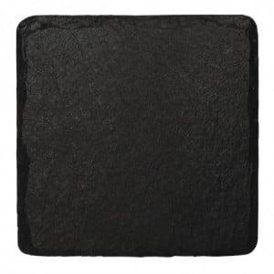 Plat de Présentation en Ardoise Naturelle - 130 x 130 mm Olympia - 1