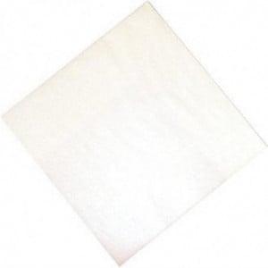 Serviette De Table En Papier Blanche 2 Plis 300 X 300 Mm - Lot De 1500 FourniResto - 1