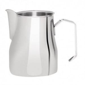 Pichet À Lait En Inox Pour Latte Avec Anse 500 Ml FourniResto - 1