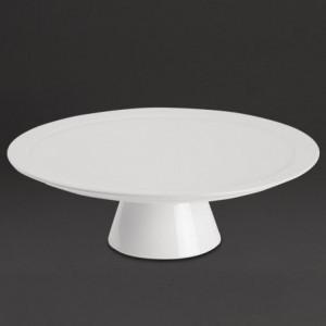 Présentoir à Gâteau en Porcelaine - Ø 305 mm FourniResto - 1