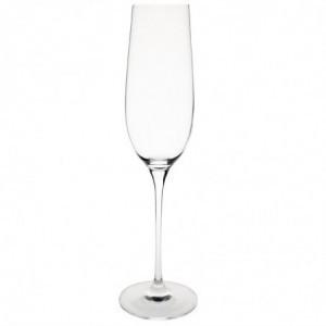 Flûte À Champagne En Cristal 260 Ml - Lot De 6 Olympia - 1