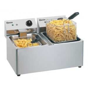 Friteuse Professionnelle SNACK IV - 2x8 L Bartscher - 1
