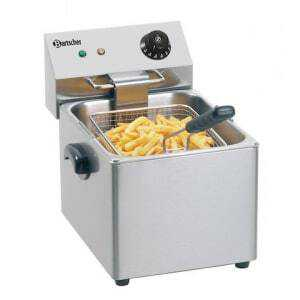 Friteuse Professionnelle  SNACK III - 8 L Bartscher - 1