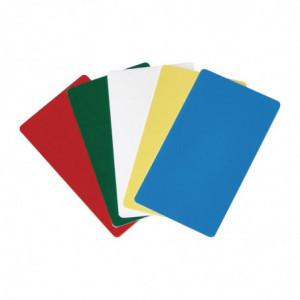 Etiquettes D'Identification 5 Couleurs Pour Gobox Cambro - 1