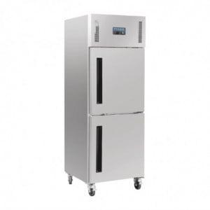 Armoire Réfrigérée Positive 2 Portillons Gn 2/1 Série G 600 L Polar - 1