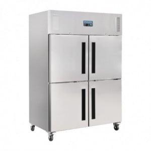 Armoire Réfrigérée Positive 2 Portillons Gn 2/1 Série G 1200 L Polar - 1
