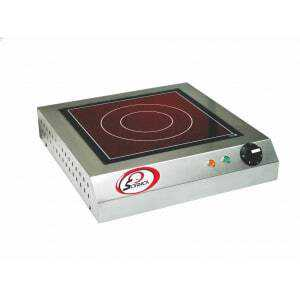 Réchaud Vitrocéramique à Détecteur - 1 Feu Sofraca - 1