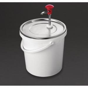 Distributeur de Sauce à Pompe - 10 L Schneider - 1