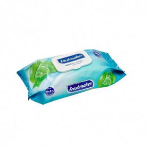 Lingettes Antibactériennes Et Antifongiques 120 Lingettes FourniResto - 1