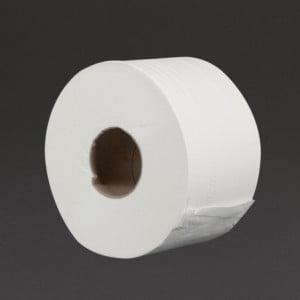 Rouleaux De Papier Toilette 2 Plis Mini Jumbo 150M - Lot De 12 Jantex - 1