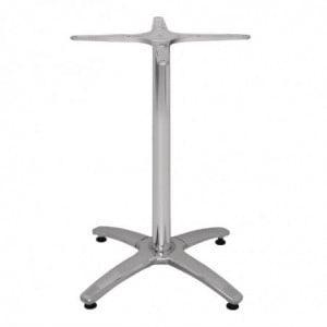 Pied De Table 4 Pieds En Aluminium Bolero - 1