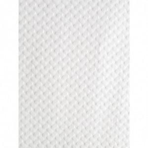 Surnappe Jetable En Papier 700 X 700Mm Blanche FourniResto - 1