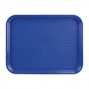 Plateau Fast Food En Plastique Bleu Olympia KRISTALLON - 1