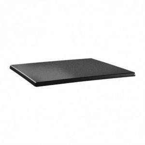 Plateau De Table Rectangulaire Classic Line 120X80Cm Anthracite Topalit - 1