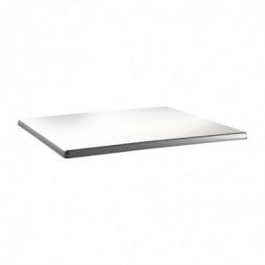 Plateau De Table Rectangulaire Classic Line 120X80Cm Blanc Pur Topalit - 1