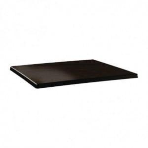 Plateau De Table Rectangulaire Classic Line 120X80Cm Wengé Topalit - 1